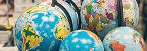 Карты, глобусы