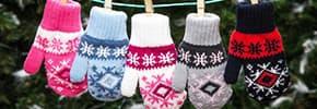 Перчатки, варежки для детей