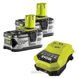 Аккумулятор, зарядное устройство для электроинструмента RYOBI RBC18LL40