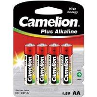 Батарейку, аккумулятор (AA/AAA/C/D) Camelion LR6-BP4