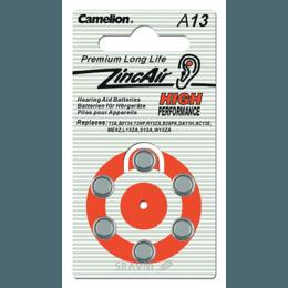 Батарейку, аккумулятор (AA/AAA/C/D) Camelion A13-BP6