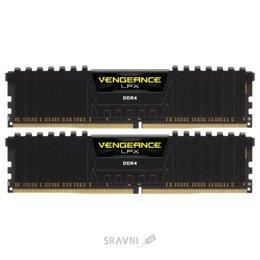 Модуль памяти для ПК и ноутбука Corsair 16GB (2x8GB) DDR4 2666 MHz (CMK16GX4M2A2666C16)