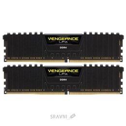 Модуль памяти для ПК и ноутбука Corsair 16GB (2x8GB) DDR4 2400 MHz Vengeance LPX Black (CMK16GX4M2A2400C16)
