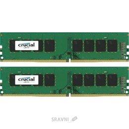 Crucial 16GB (2x8GB) DDR4 2400MHz (CT2K8G4DFS824A)