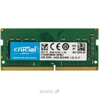 Crucial 4GB SO-DIMM DDR4 2400MHz (CT4G4SFS824A)