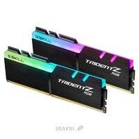 Модуль памяти для ПК и ноутбука Модуль памяти G.skill  16GB (2x8GB) DDR4 3200MHz Trident Z RGB (F4-3200C16D-16GTZR)