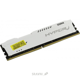 Модуль памяти для ПК и ноутбука Kingston 16GB DDR4 2400MHz HyperX Fury White (HX424C15FW/16)