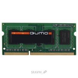 Модуль памяти для ПК и ноутбука Qumo 4GB DDR3 SO-DIMM 1600MHz (QUM3S-4G1600K11L)