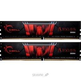 Модуль памяти для ПК и ноутбука G.skill  32GB (2x16GB) DDR4 3000MHz Aegis (F4-3000C16D-32GISB)