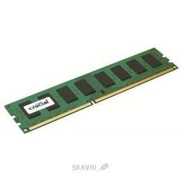 Модуль памяти для ПК и ноутбука Crucial 4GB DDR3 1600MHz (CT51264BA160BJ)