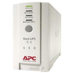 UPS (Система бесперебойного питания) APC Back-UPS CS 650VA