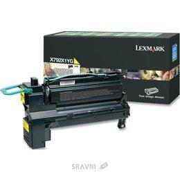 Картридж, тонер-картридж для принтера Lexmark X792X1YG