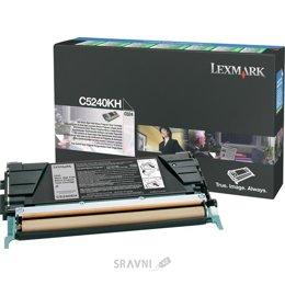 Картридж, тонер-картридж для принтера Lexmark C5240KH