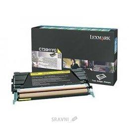 Картридж, тонер-картридж для принтера Lexmark C736H1YG