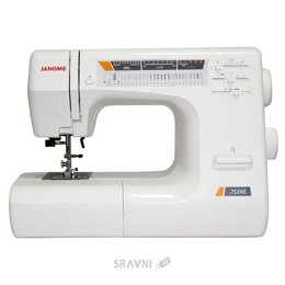 Швейную машинку и оверлоку Janome 7524E