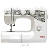 Швейную машинку и оверлоку Elna 1000 Sew Zebra