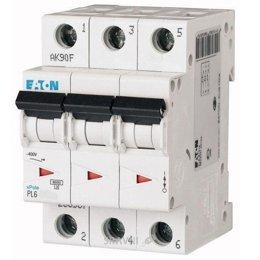 Автоматический выключатель Eaton PL6-D16/3 (286613)