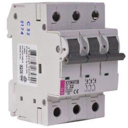Автоматический выключатель ETI ETIMAT 10 3p C 50A 6 kA (2135721)
