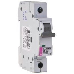 Автоматический выключатель ETI ETIMAT 6 1p C 16A (2141516)