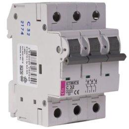 Автоматический выключатель ETI ETIMAT 6 3p C 32A (2145519)