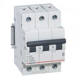 Автоматический выключатель Legrand C63 3Р 4.5 kA (419714)