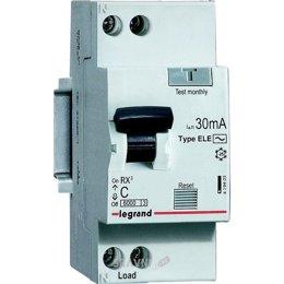 Автоматический выключатель Legrand RX3 1P+N С 16А 30mA AC (419399)