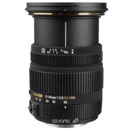Объектив Sigma 17-50mm f/2.8 EX DC OS HSM Canon EF-S