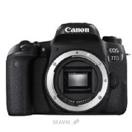 Цифровой фотоаппарат Canon EOS 77D Body