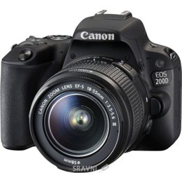 Цифровой фотоаппарат Canon EOS 200D Kit