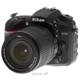 Цифровой фотоаппарат Nikon D7200 Kit