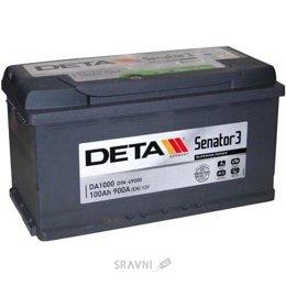 Аккумуляторную батарею DETA 6СТ-100 АзЕ Senator 3 (DA1000)