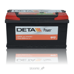 Аккумуляторную батарею DETA 6СТ-95 АзЕ Power (DB950)