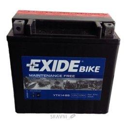 Аккумуляторную батарею Exide ETX14-BS