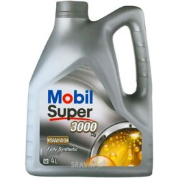 Моторное масло MOBIL Super 3000 X1 5W-40 4л
