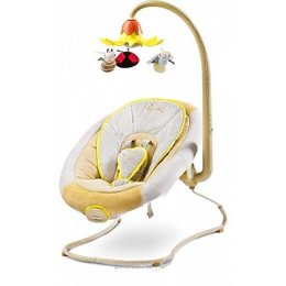 Кресло-качалка. Шезлонг детский Caretero Blossom