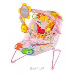 Кресло-качалка. Шезлонг детский Жирафики Милашка (939431)