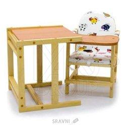 Стульчик и стол для кормления ПМДК Октябренок