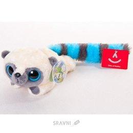 Мягкую игрушку Aurora Юху голубой лежачий, 16 см (16-100)