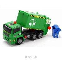 Dickie Toys Мусоровоз с воздушной помпой и контейнером (3805000)