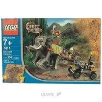 Фото LEGO Adventurers 7414 Elephant Caravan