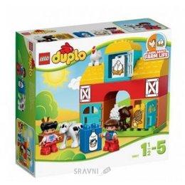Конструктор детский LEGO Duplo 6141 Моя первая ферма