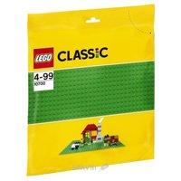 Конструктор детский Конструктор LEGO Classic 10700 Строительная пластина зелёного цвета