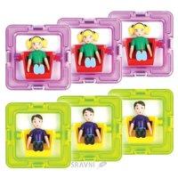 Конструктор детский Конструктор Magformers 3 мальчика и 3 девочки 60203