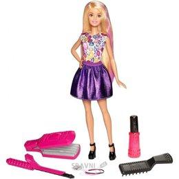 Куклу Mattel Barbie Удивительные кудри с аксессуарами (DWK49)