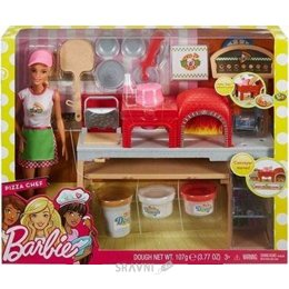 Куклу Mattel Barbie Пицца-шеф (FHR09)