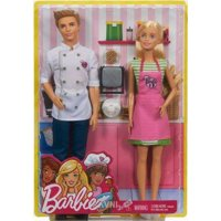 Mattel Barbie Кен и Барби повары (FHP64)