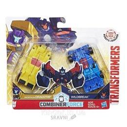 Трансформер Робот-Игрушку Hasbro Transformers Крэш Комбайнер Драгстрип и Вайлдбрейк (C2342)