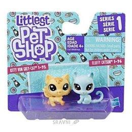 Игровую фигурку Hasbro Littlest Pet Shop Набор два Пета в ассортименте (B9389)