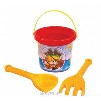 Развивающую игрушку для малыша Тигрес Песочный набор «Тигренок» 3 элемента (39029)