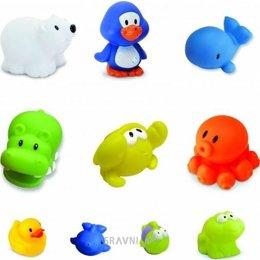 Игрушку для младенцев BABYBABY Пингвин и друзья (03652)